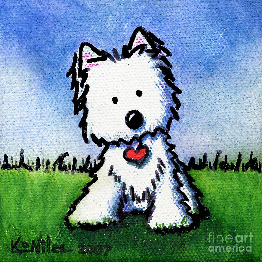 17 best images about Westie Art on Pinterest | Art oil, Westies ...