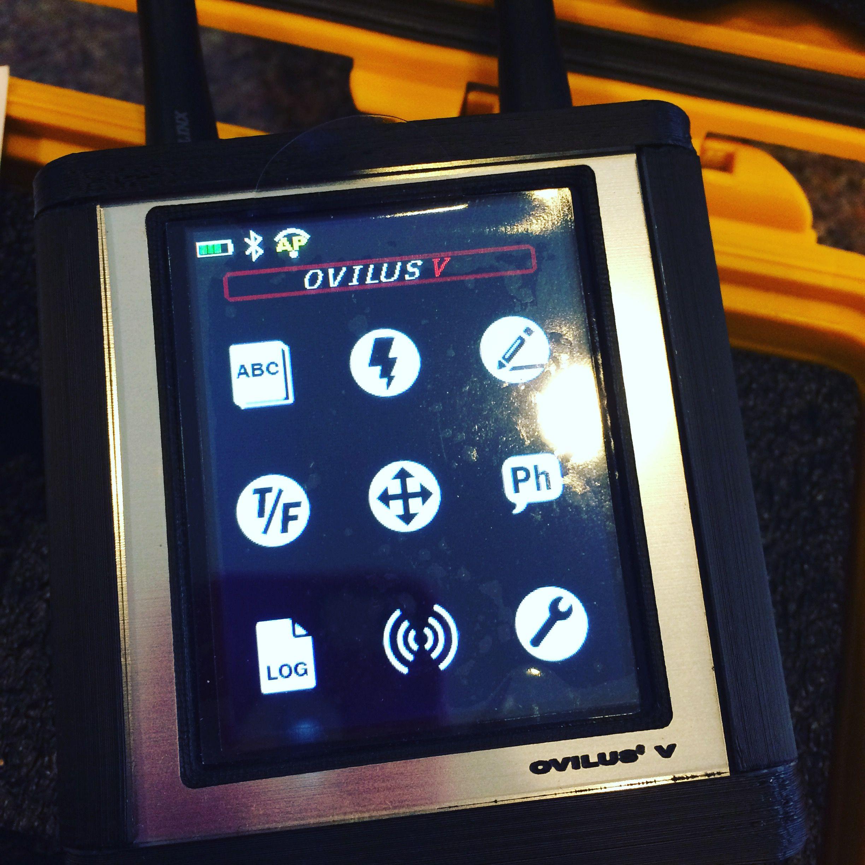 Ovilus 5 from Digital Dowsing  Phonetic Generator, Spirit box