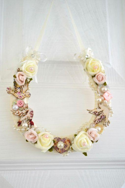 Wedding Gift Decorated Horseshoe