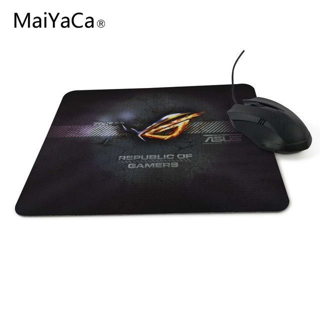 Rug Anti Slip Mouse Diy Design Republic Asus Rog Gamer Pc Large Gaming Laptop Mouse Pad Black Paint Rubber M Tapis De Souris Gamer Tapis De Souris Souris Gamer