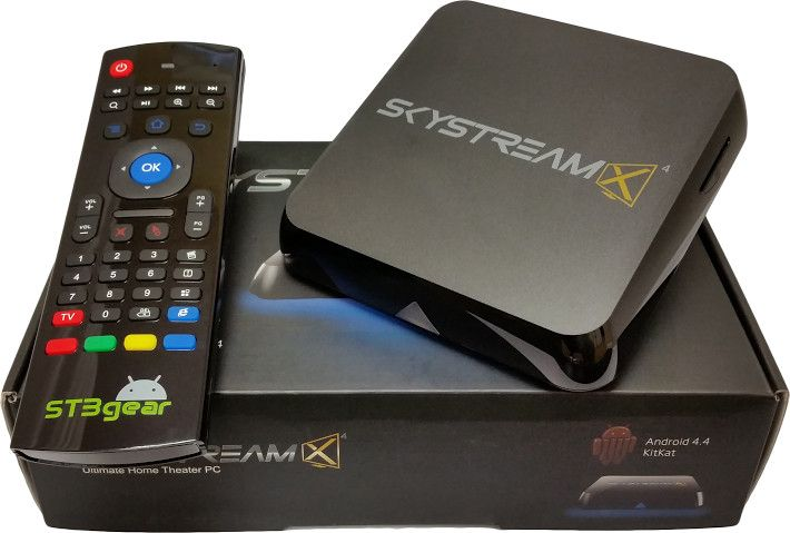 SkyStream 3+ 4K Streaming Media Player | Tvs, Android, Quad
