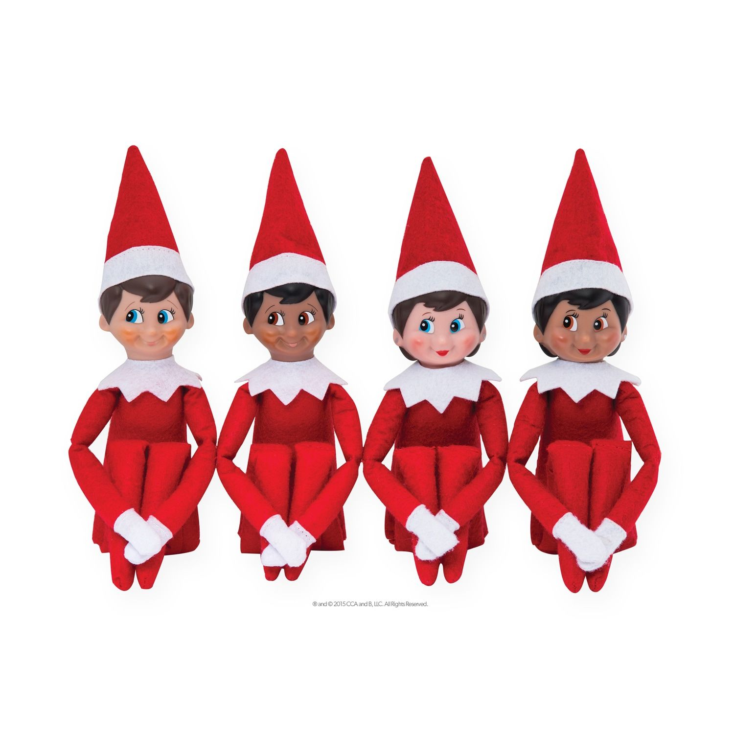 The Elf On The Shelf A Christmas Tradition Book Blue Eyed Boy