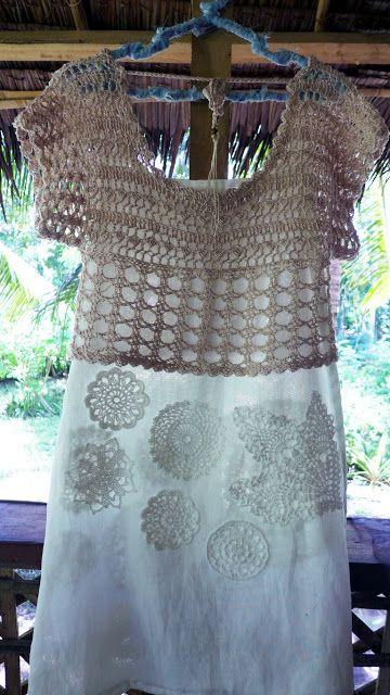 Crochetology by Fatima: Crochetology Challenge: Romantic Blouse