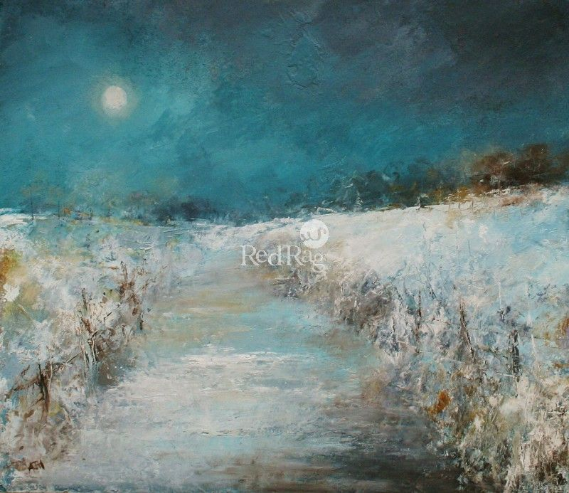 Amanda Hoskin - Winter's Evening, Cornwall