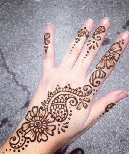 Easy Arabic Mehndi Henna Designs For Hands Simple Arabic Mehndi