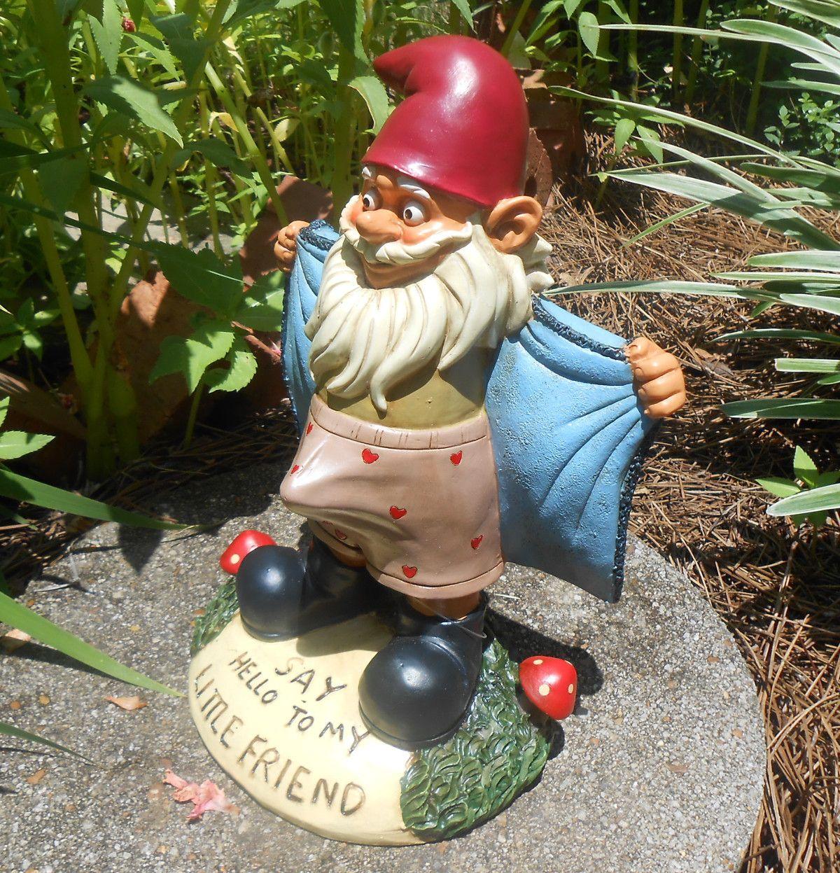 Garden Gnome | GARDEN DECOR | Pinterest | Gardens