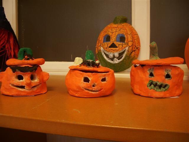 Afbeeldingsresultaat Voor Halloween Knutsel Klei Thema