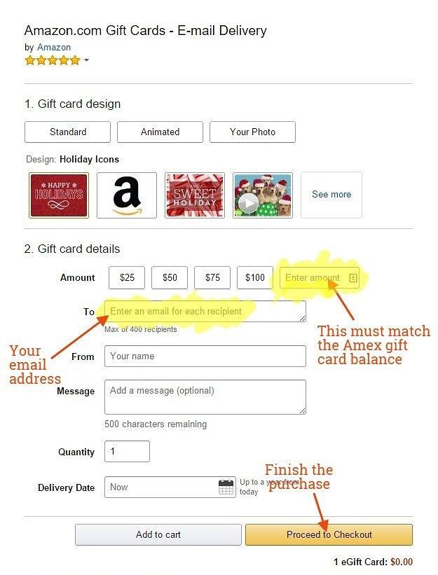 How To Use An American Express Gift Card On Amazon Working From Anywhere Rocks Geschenkkarte Karten Visitenkarten