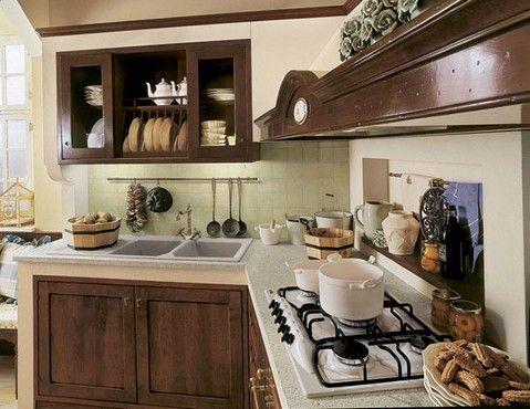 mobili per salone - cucine classiche muratura | Nel laboratorio di ...