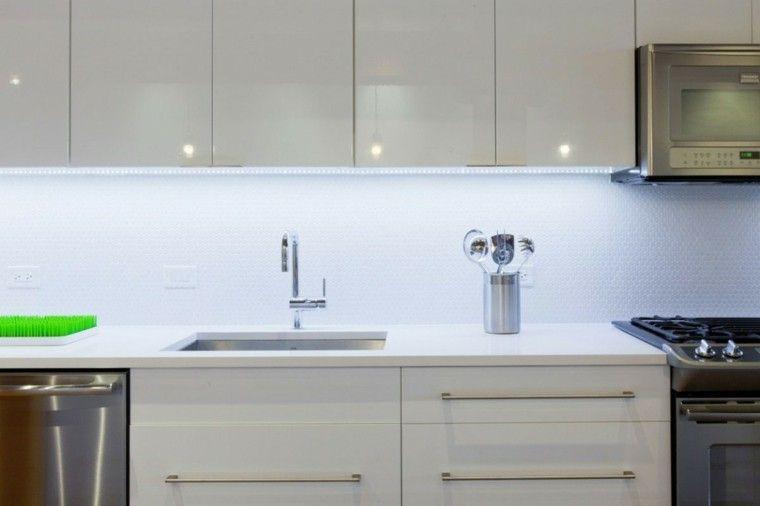 Panel de cocina: 50 ideas para la pared de la cocina | Ideas para la ...