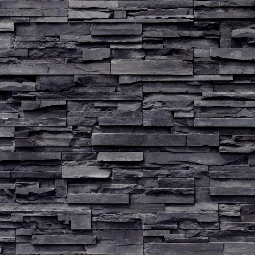 Dark Stacked Stone Tile Google Zoeken