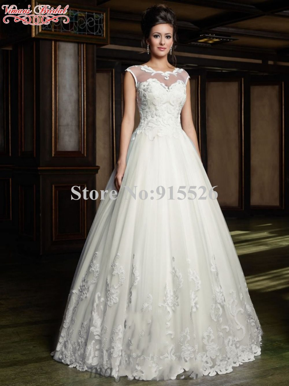 Click to buy ucuc vimanus bridal white gothic wedding dresses