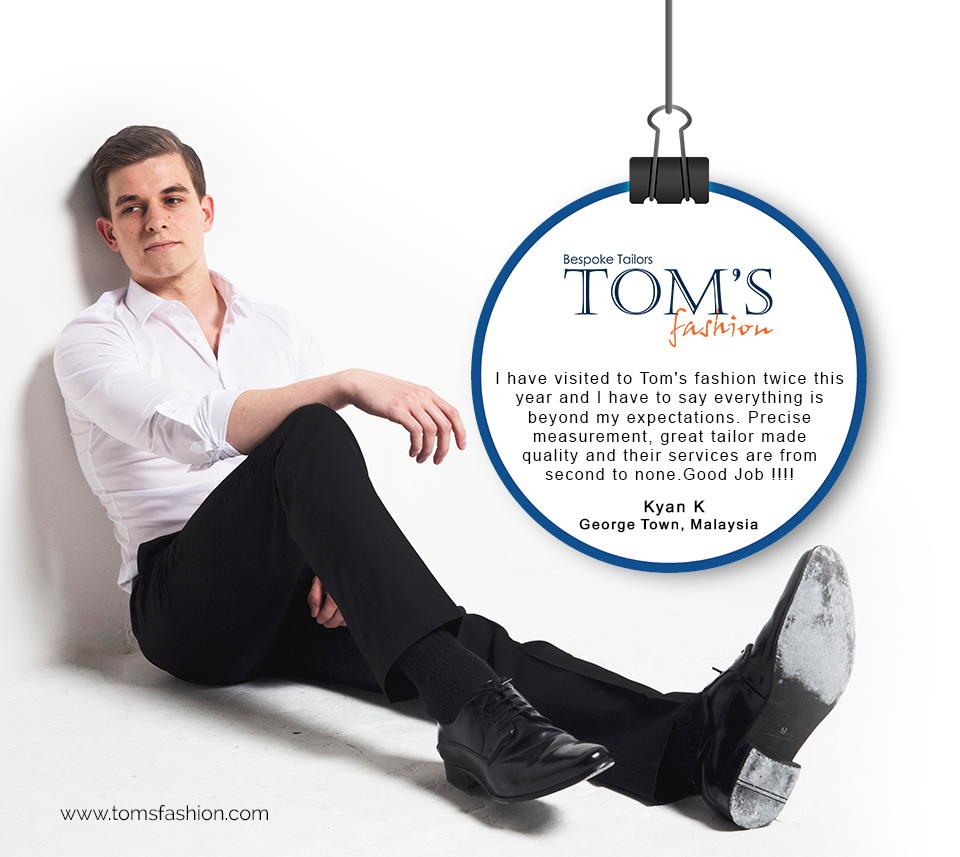 Happy People with Tom's Fashion Visit:- http://bit.ly/1zcxoaR #CustomTailors #Fashion #Bangkok #TomsFashion