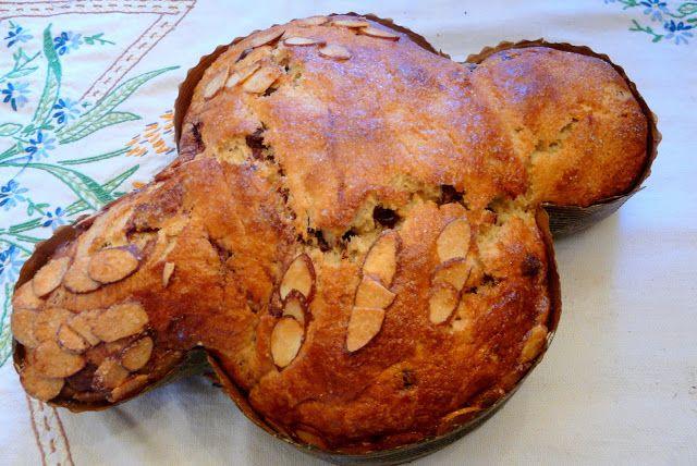 Colomba di Pasqua (dove of peace) Italian Easter Bread Recipe