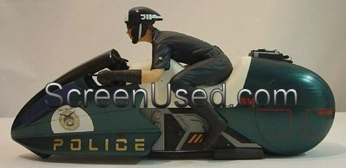 Back To The Future 2 Ilm Miniature Police Motorcycle