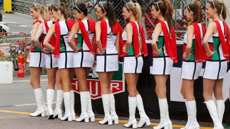 CARA DELEVINGNE at McLaren Honda Garage in Pitlane at