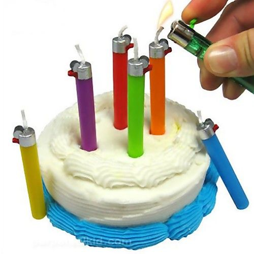 Birthday Candles Unique candles and comes in a unique slider