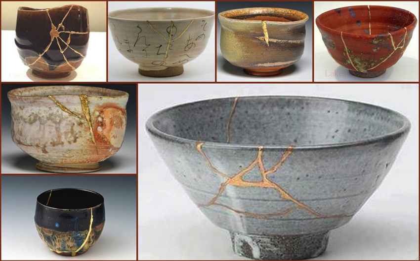 Kitsungi. The art of repairing broken ceramic with gold in ...