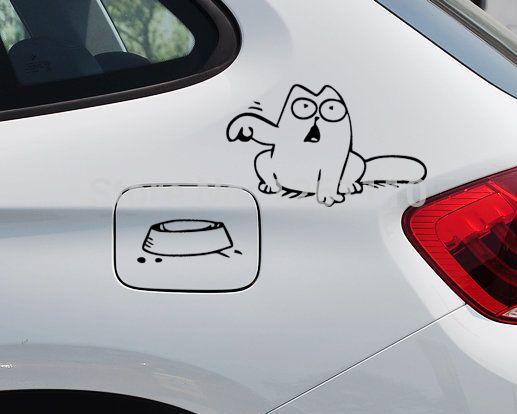 Dogs and Cats Love Sticker Car Window Door Bumper Laptop Motorcycle Vinyl Decal