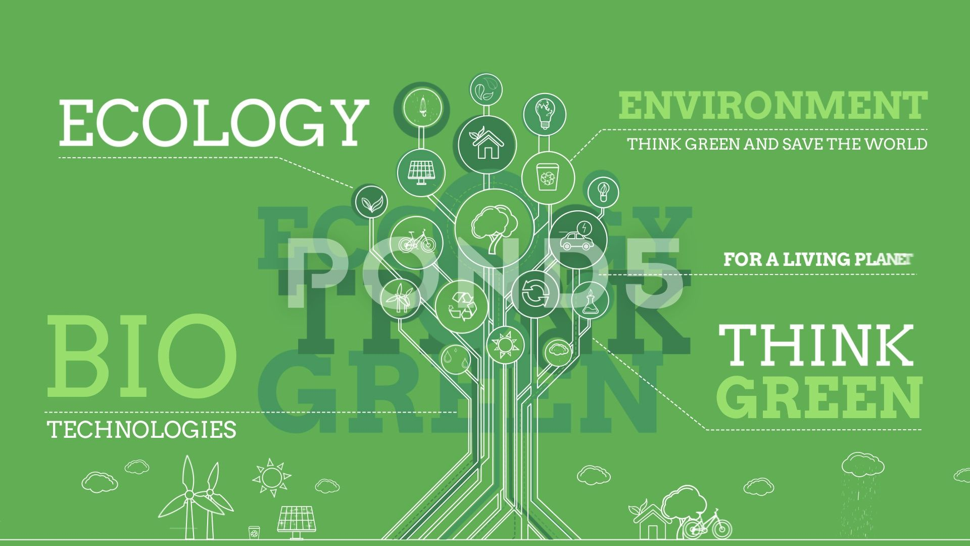 Ecology Infographics Stock After Effects Infographics