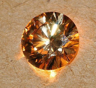 GIA CERTIFIED 1.00 ONE CARAT NATURAL FANCY BROWN ROUND BRILLIANT SI1 DIAMOND