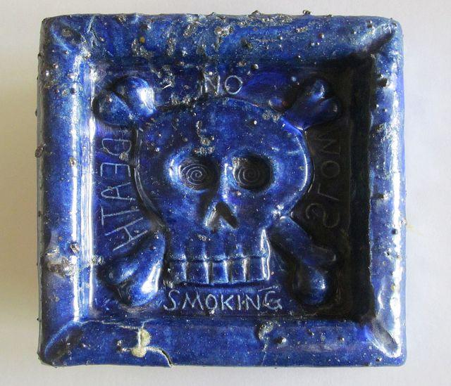 Clayton Bailey. No Smoking ashtray