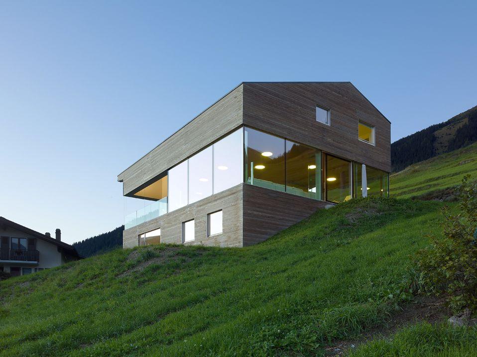 Val Du0027Entremont House By Savioz Fabrizzi Architectes/Switzerland ·  Switzerland HouseWood ArchitectureArchitecture ...