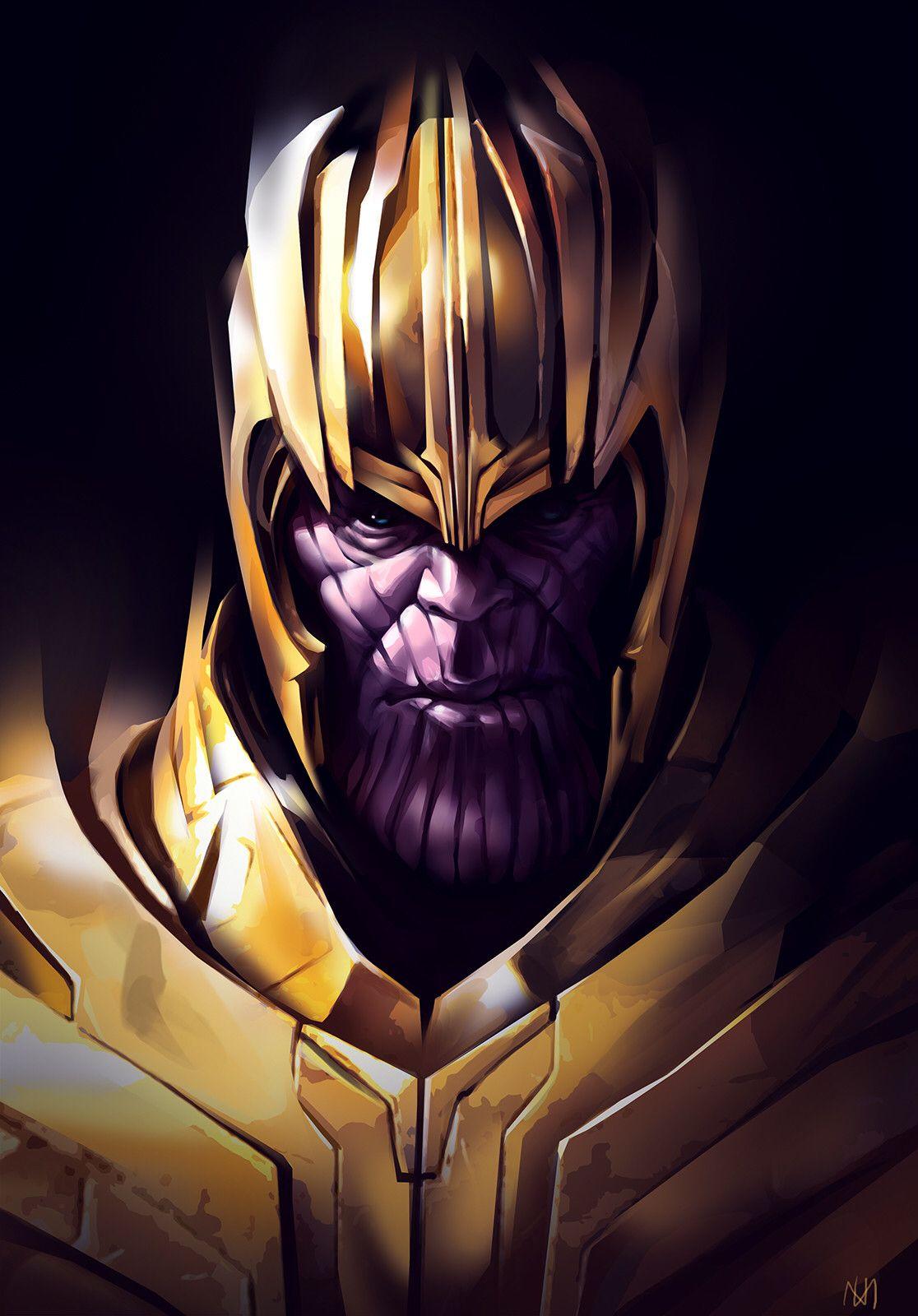 Nagy Norbert Marvel Villains Thanos Marvel Marvel Comics Art