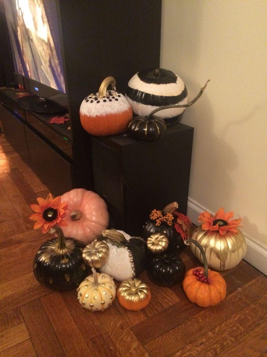 Fancy pumpkins
