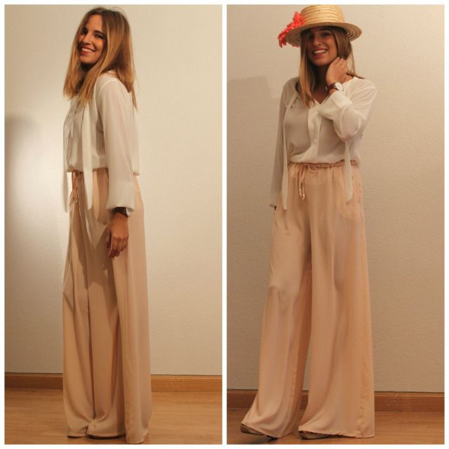 disfruta del precio inferior Moda más cerca de pantalon palazzo rosa palo - Buscar con Google | graduacion ...