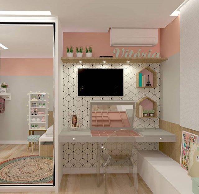 Habitaciones De Ensueño Dormitorios Decoracion De: Pin De Luz Marina En Escritorio Para Niños