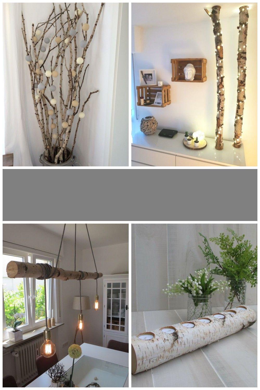 Birkenstamm Deko Home Decor Interior Decor