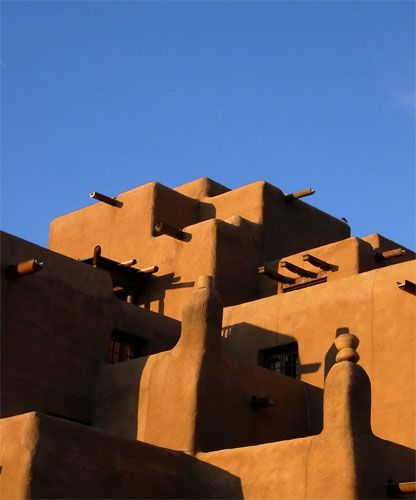 Santa Fe Architecture. Loved The Adobe Style Homes In New