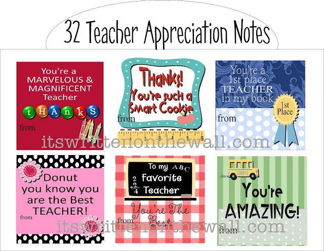 Teacher appreciation notes t is for teacher appreciation ideas teacher appreciation notes thecheapjerseys Choice Image