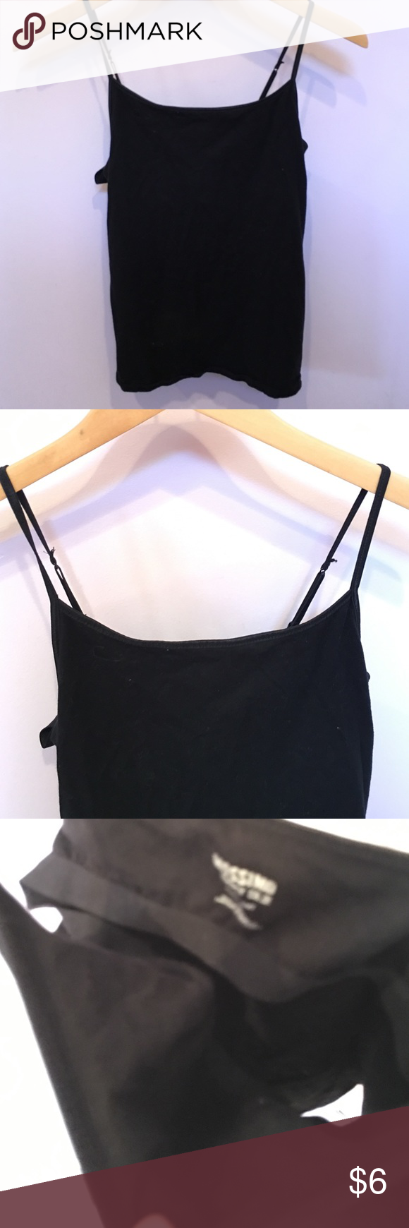 Large black cami size large Mossimo Supply Co Tops Camisoles