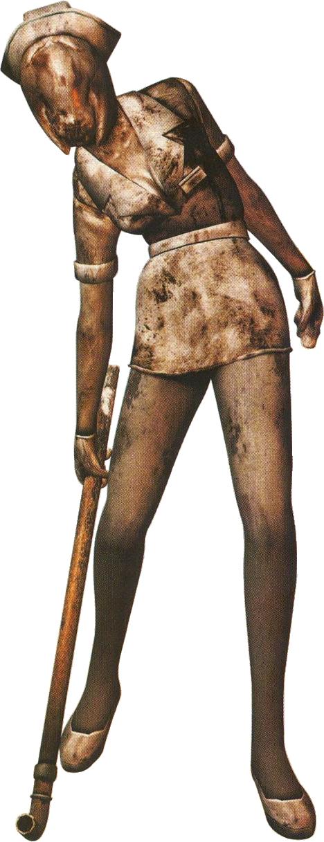 Bubble Head Nurse Silent Hill Nurse Silent Hill Silent Hill Game