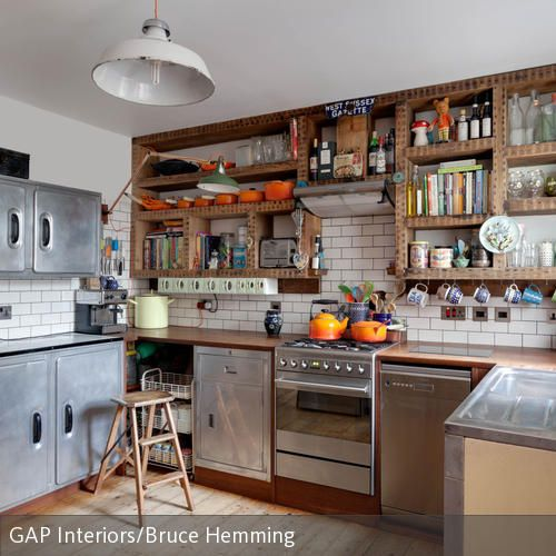Küche im Retro-Stil | Cosy, Kitchens and Room