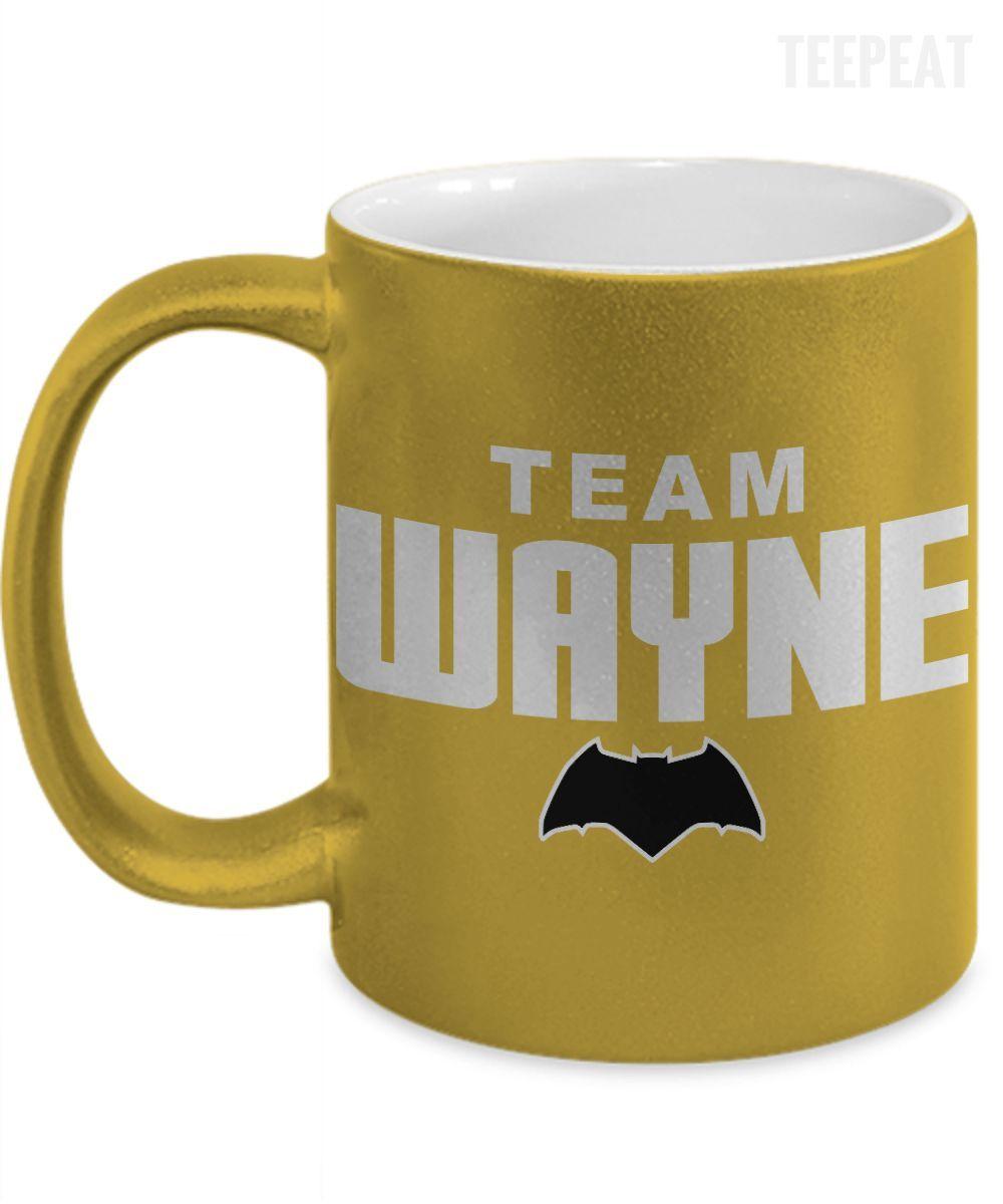 Team Wayne Metallic Mug