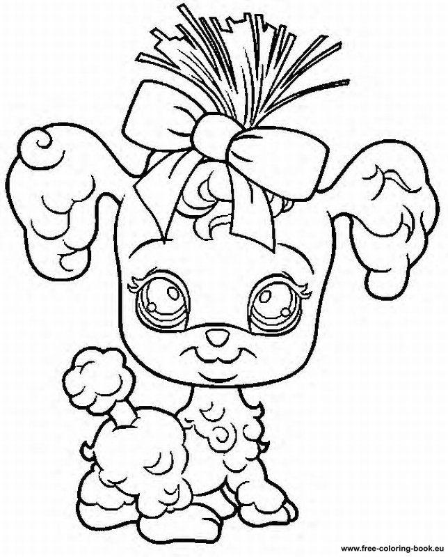 Coloring pages Littlest Pet Shop - Page 1 - Printable Coloring Pages ...