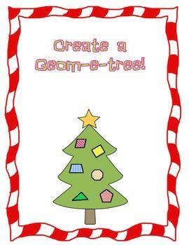 FREE Christmas Geom-e-tree!