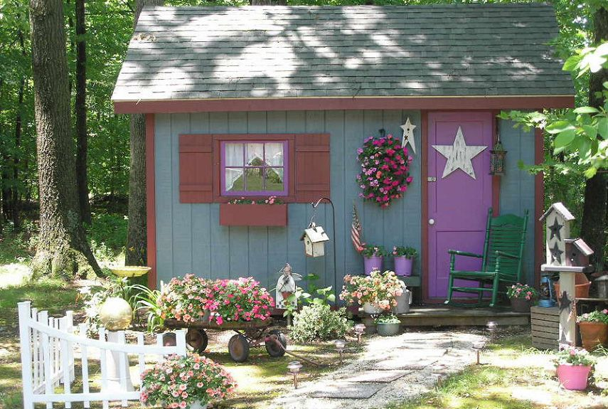 9 Perfectly Charming Garden Sheds Shed Design Building A Shed Diy Storage Shed