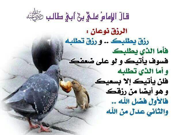 أنواع الرزق Animals Life Islam