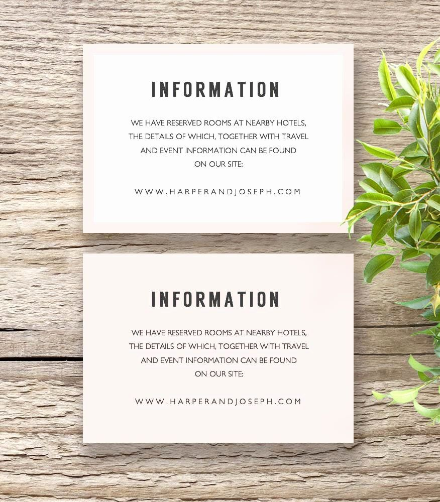 Info Card Template Fresh Bettie Printable Wedding Invitation Tem Wedding Invitations Printable Templates Printable Wedding Invitations Card Templates Printable