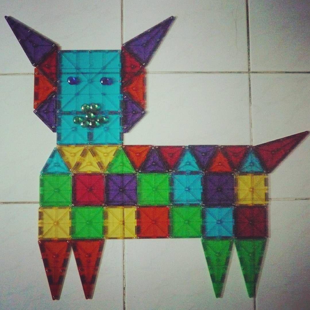 Instagram Photo By Likke Wijaya Kho Jul 27 2016 At 4 20am Utc Magnetic Tiles Magnet Crafts Magnetic Building Tiles