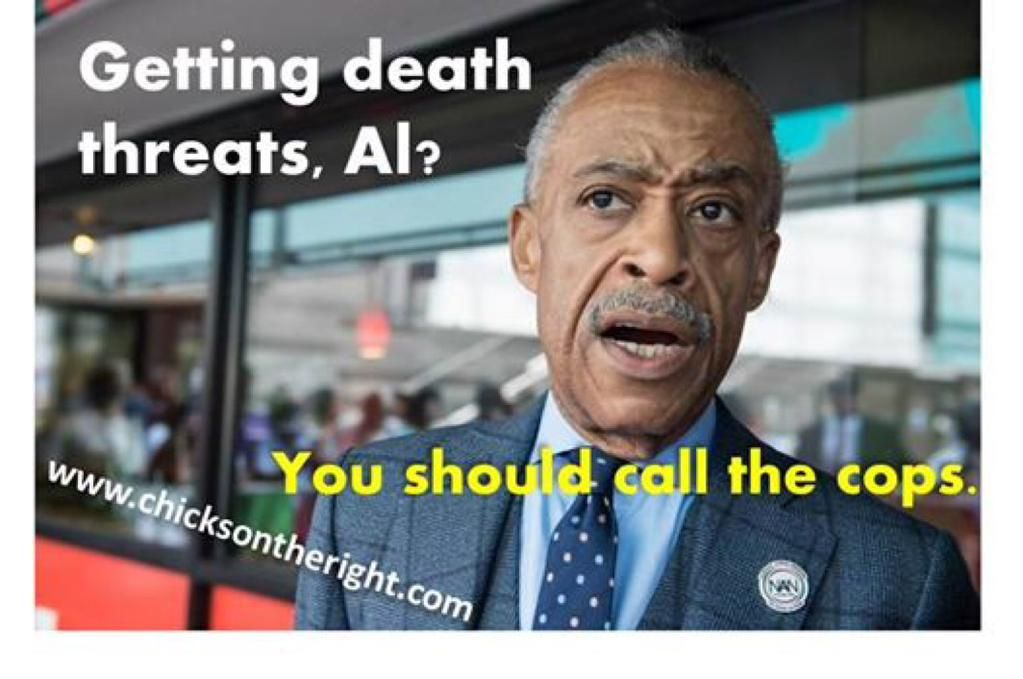 Good Luck With That You Race Baiting Lying Anti Police Creep!! #ccot #tcot #pjnet