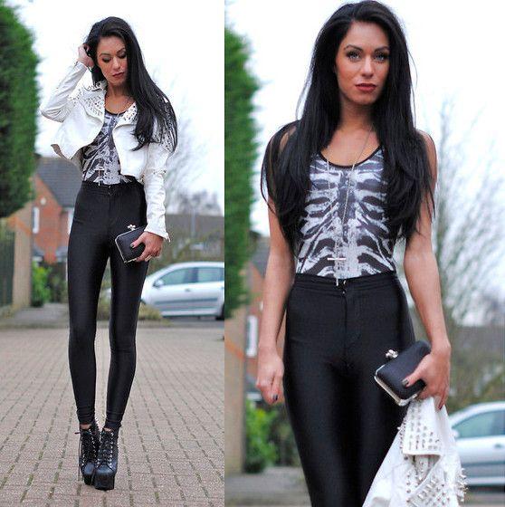 Pin by Stephanie Desiree on Fashion | Rocker chic style
