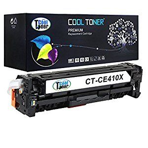 Cool Toner Compatible For Ce410x High Capacity Toner Cartridge Replacement For Hp Laserjet Pro 300 Color M351a Mfp M Toner Cartridge Cool Stuff Toner