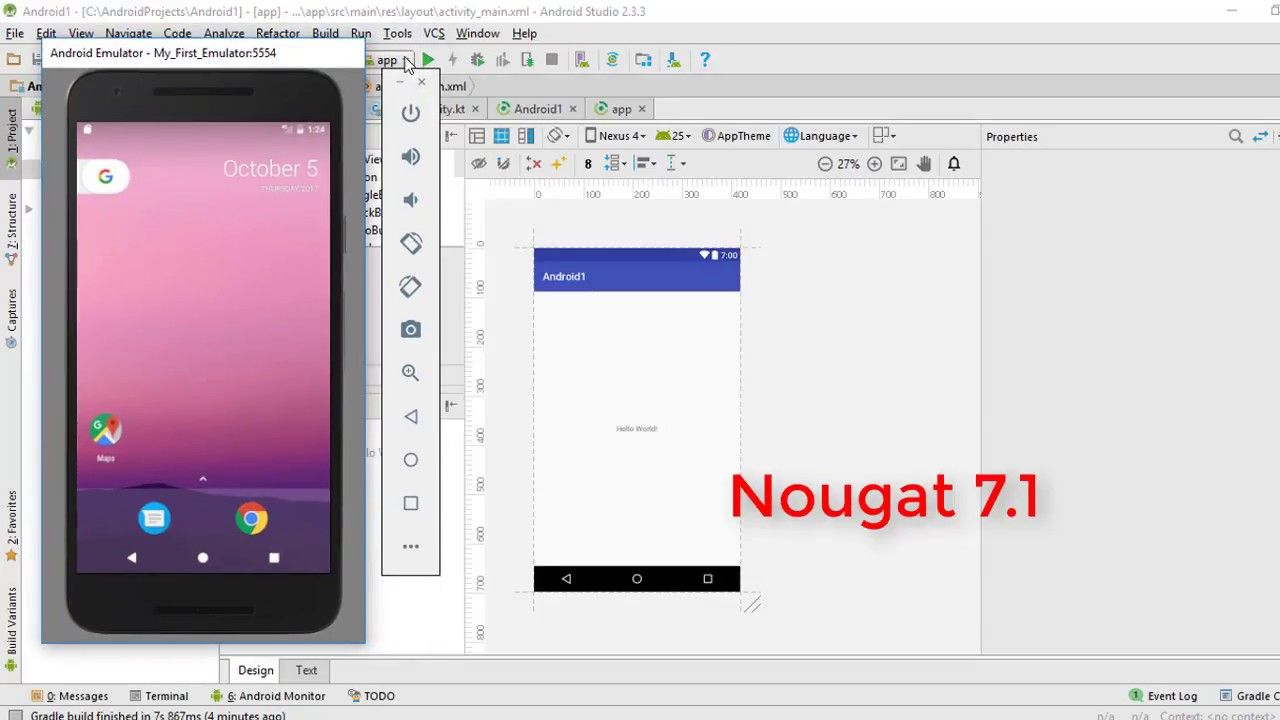 Android kotlin beginner tutorial 2 configure android studio for in this android development with kotlin tutorial were going to configure our android studio for working with kotlin and also create a virtual device fo baditri Images