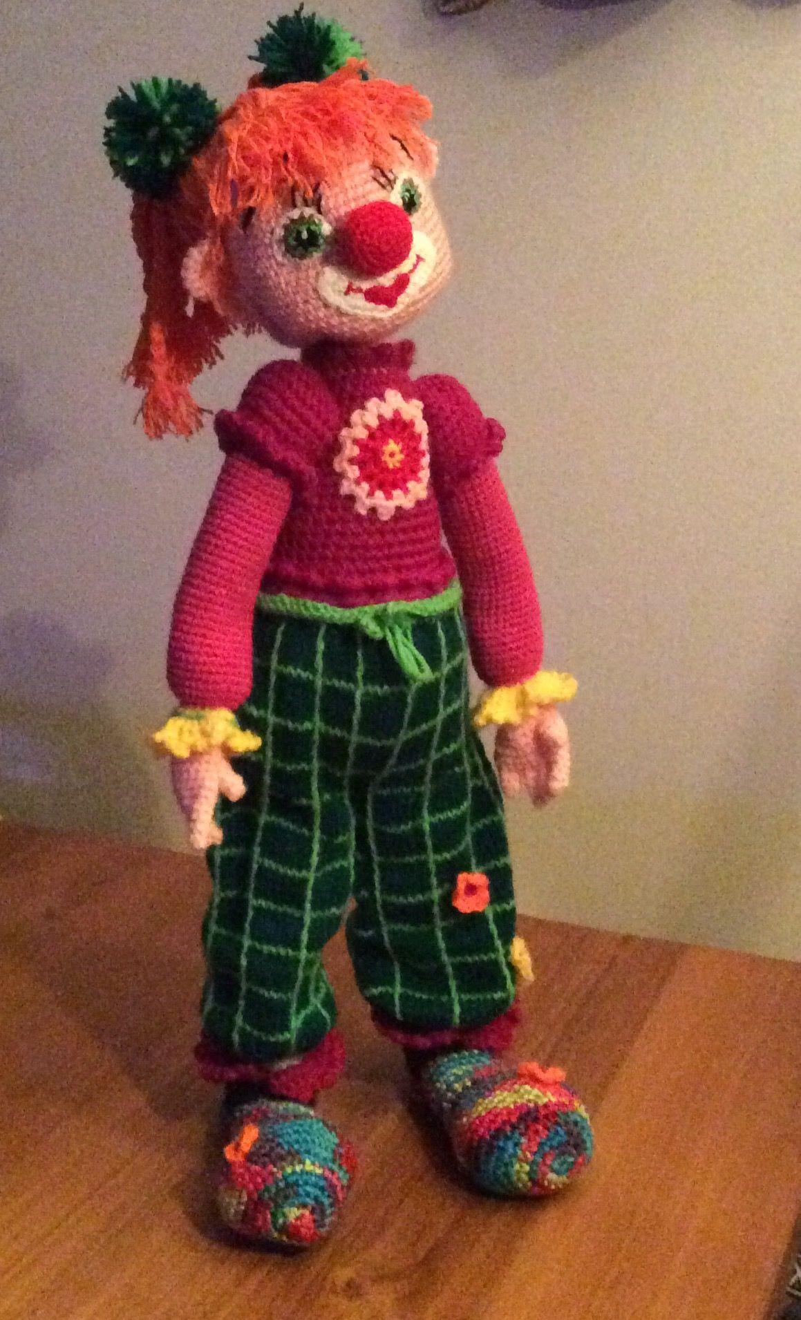 Clown, ja ook een meisje jan een clowntje zijn!