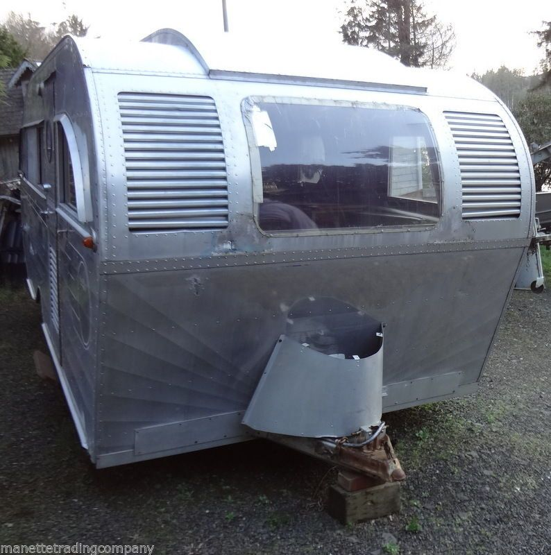 For Sale! 11/8/2014 1948 Aero Flite Travel Trailer not an Airstream but much Rarer